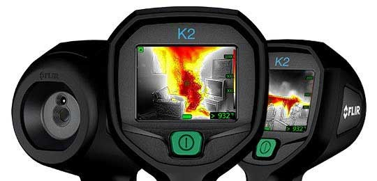 affordable FLIR K2 thermal imaging camera