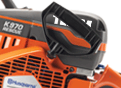 D pull start handle on K12FD rescue saws