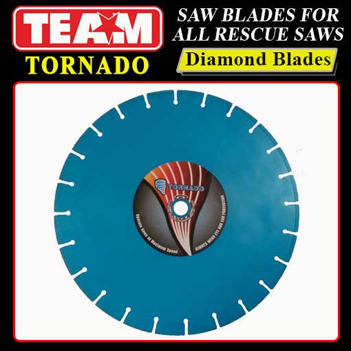 Team Tornado diamond rescue blade