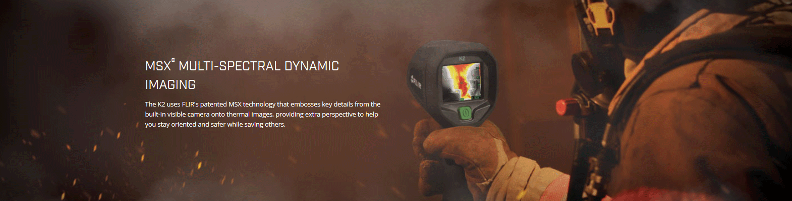 FLIR K-Series K2 Thermal Imaging Camera