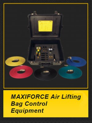 Paratech air lifting bag control equipment