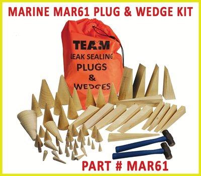 Ship Leak Sealing Plug Kit