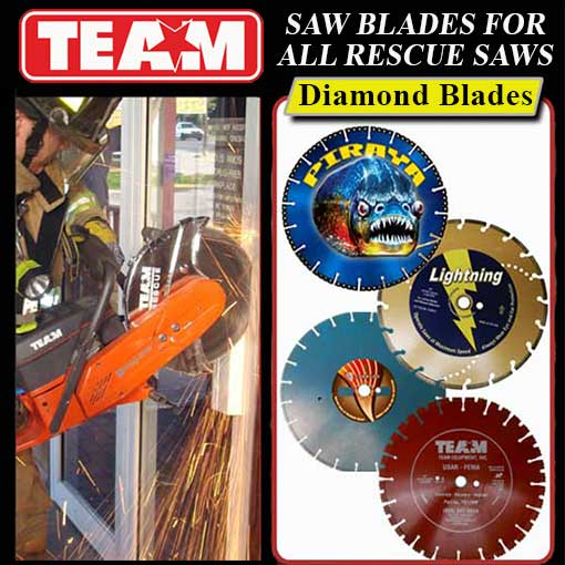 Diamond Resceu Blades for Rescue Saws