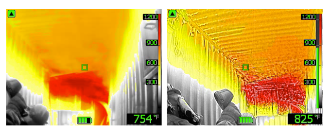 FLIR Firefighter using TIC