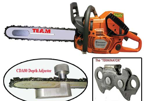 TEAM Shark Vent Saws and Kits