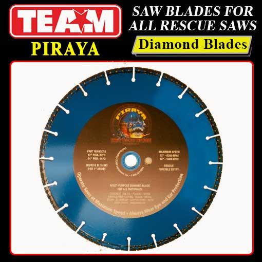 Piraya Cut All Diamond Rescue Blade