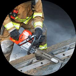 Roof ventilation SHARK II chainsaw
