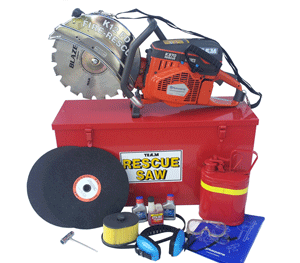 Fire Department K12 rescue saw kit