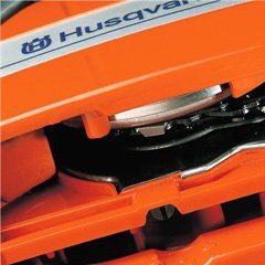 adjustable oil flow on shark ventilation chainsaws