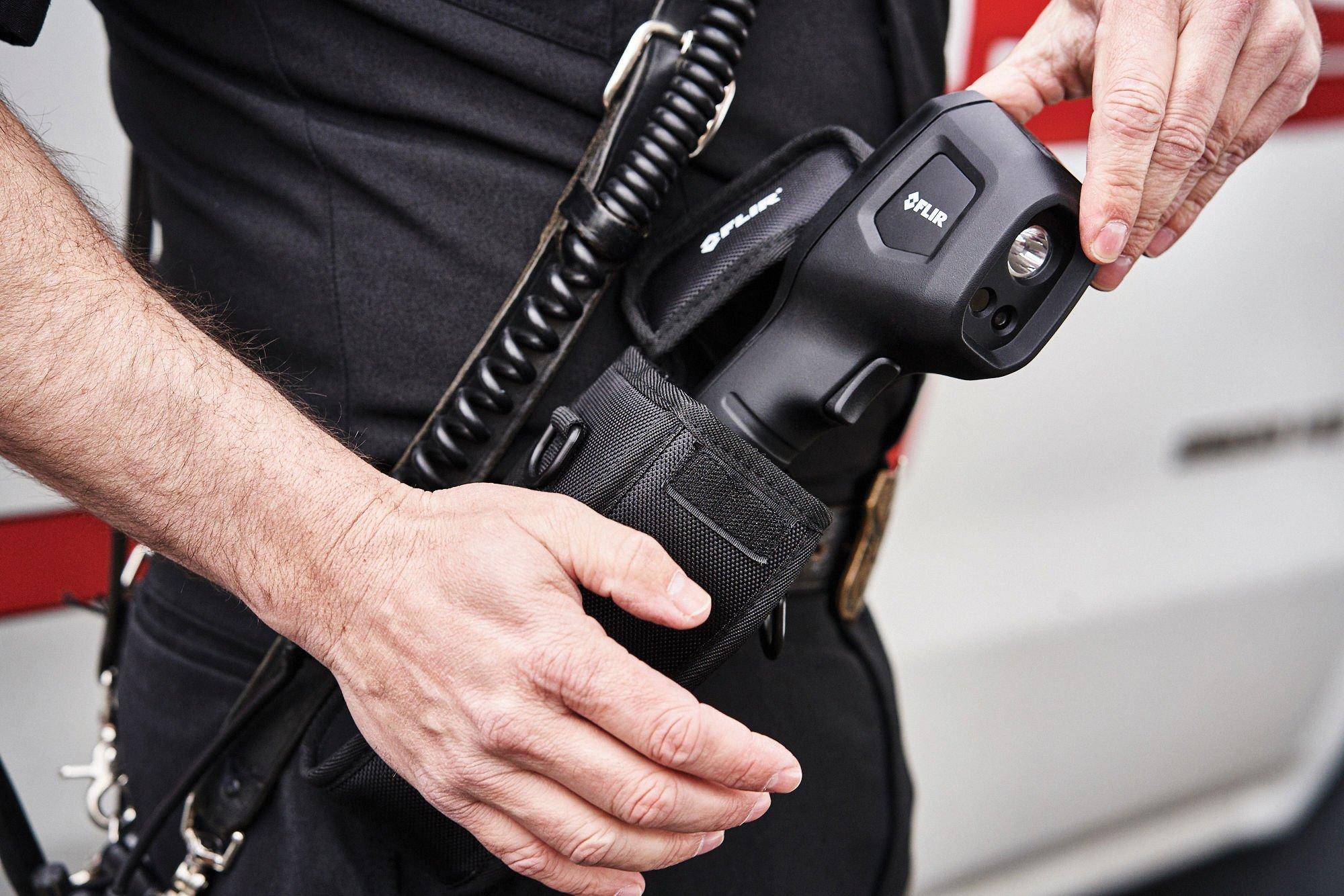FLIR K1 includes tactical pouch