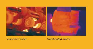TEAM FLIR Thermal Imaging Cameras for rollers and motors