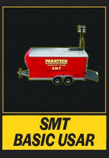 Paratech USAR SMT Rescue Trailer