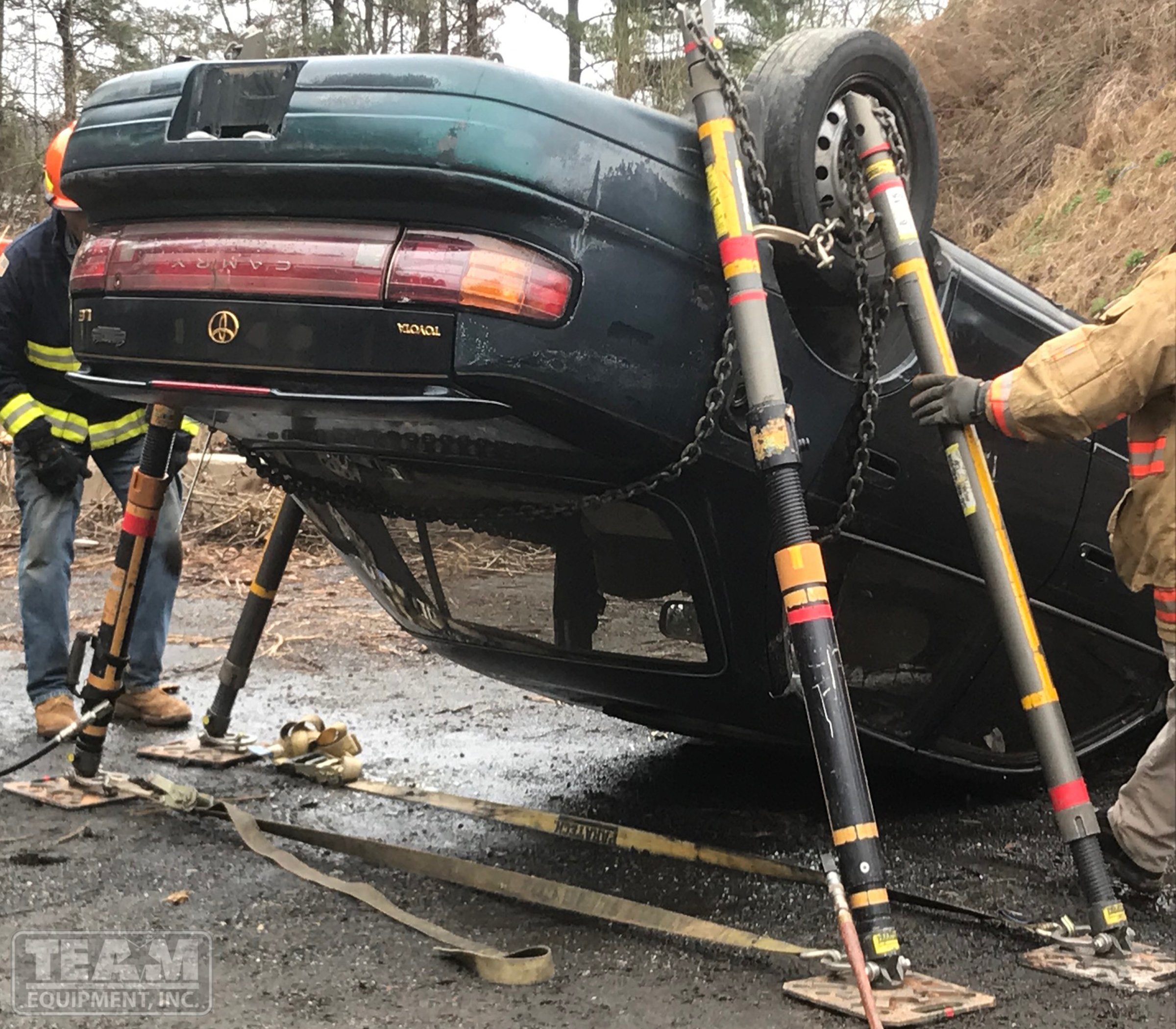 Paratech auto stabilization