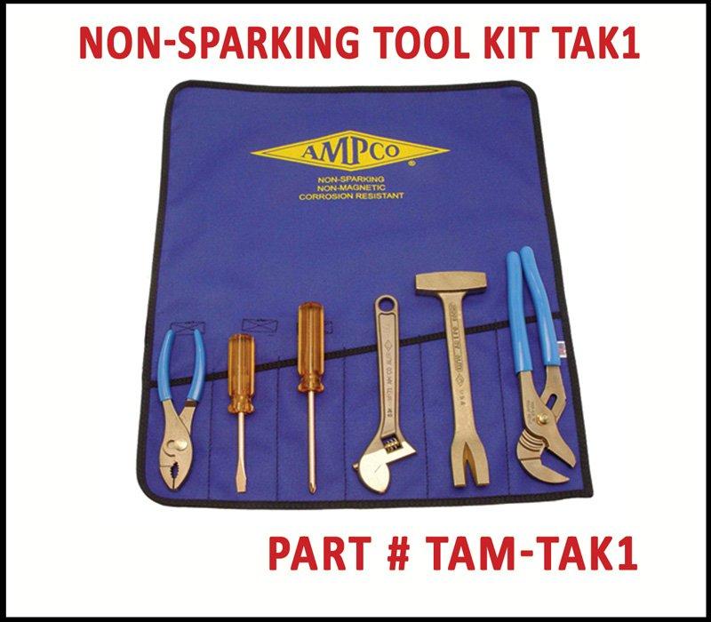 TEAM Rescue Tools Ampco Non Sparking Tools TAK1 Starter Set