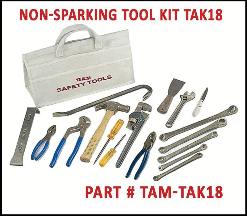 TEAM Rescue Tools Ampco Non Sparking Tools TAK18
