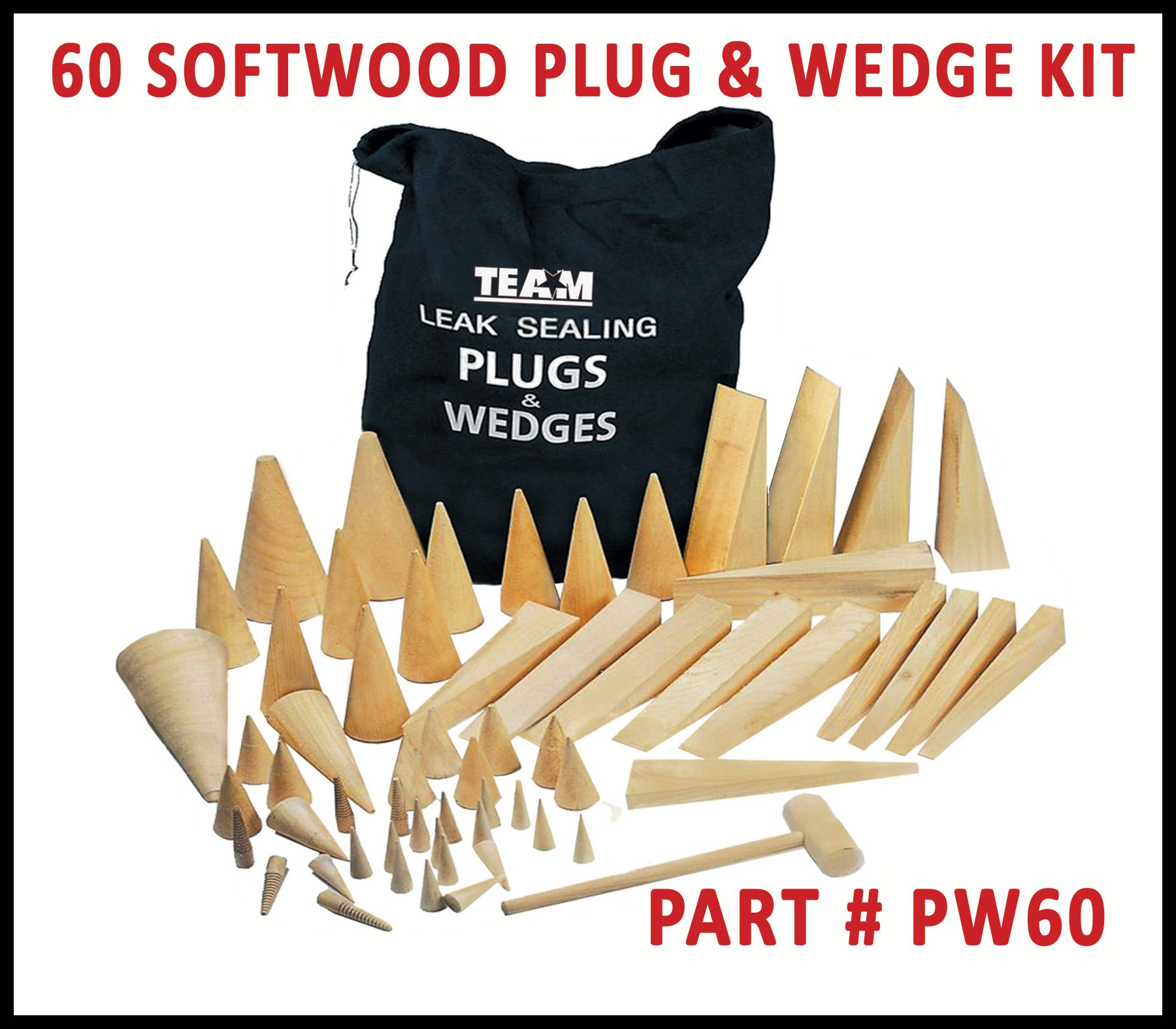 TEAM PW60 Plug and Wedge Kit