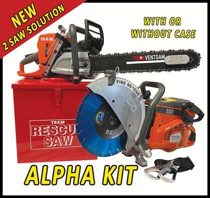 TEAM ALPHA Rescue Saw Kit