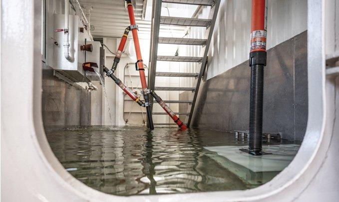 Damage Control ship flooding