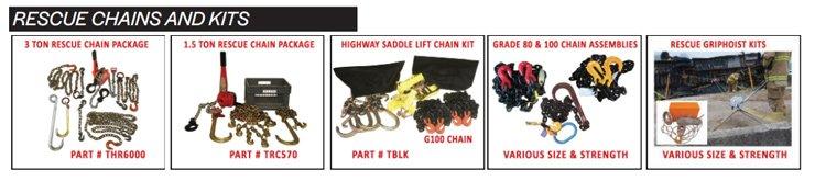 TEAM Rescue Chain Kits