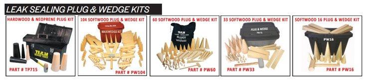 TEAM Plug and Wedge Kits