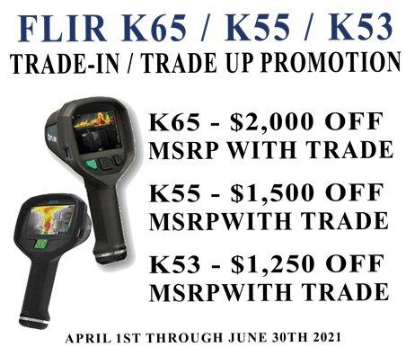 FLIR Trade-in sale